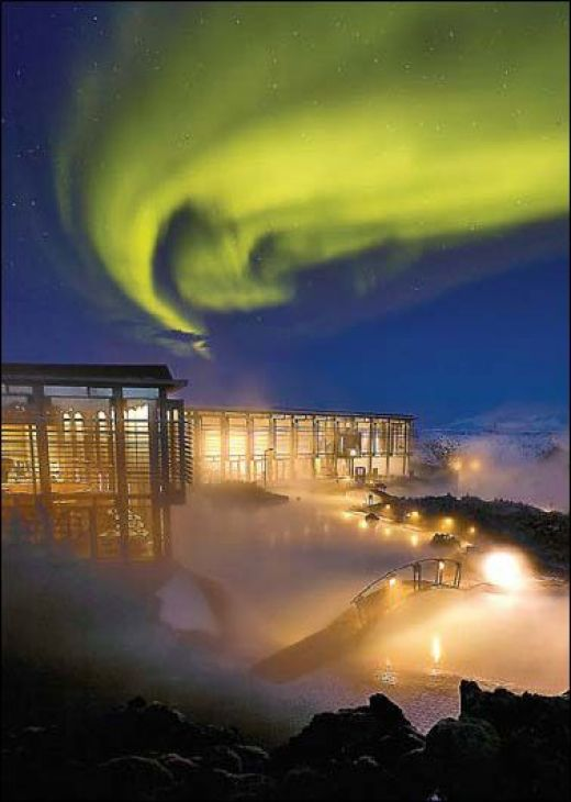 Arrival via Blue Lagoon & Northern Lights