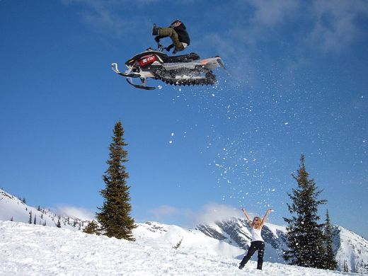 Gullfoss - Geysir & Langjokull Snowmobiling